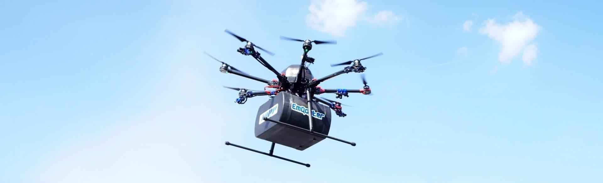 Lieferdrohne, Drohne