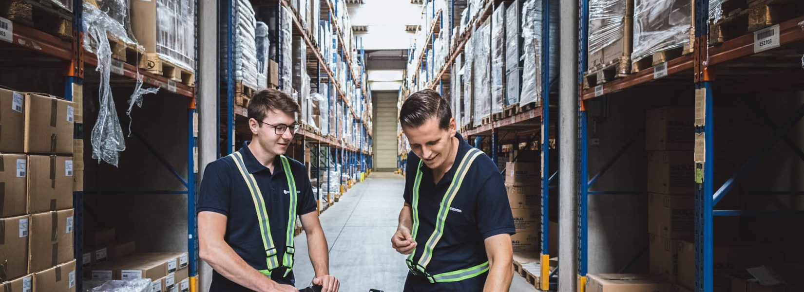 MotionMiners im Logistik Lager